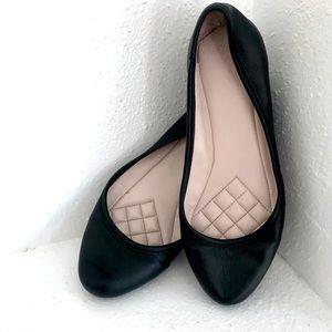 Vince Camuto Shoes - Vince Camuto Women's Black Ballet Flats Size 7.5